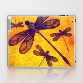 Radioactive dragonflies Laptop & iPad Skin