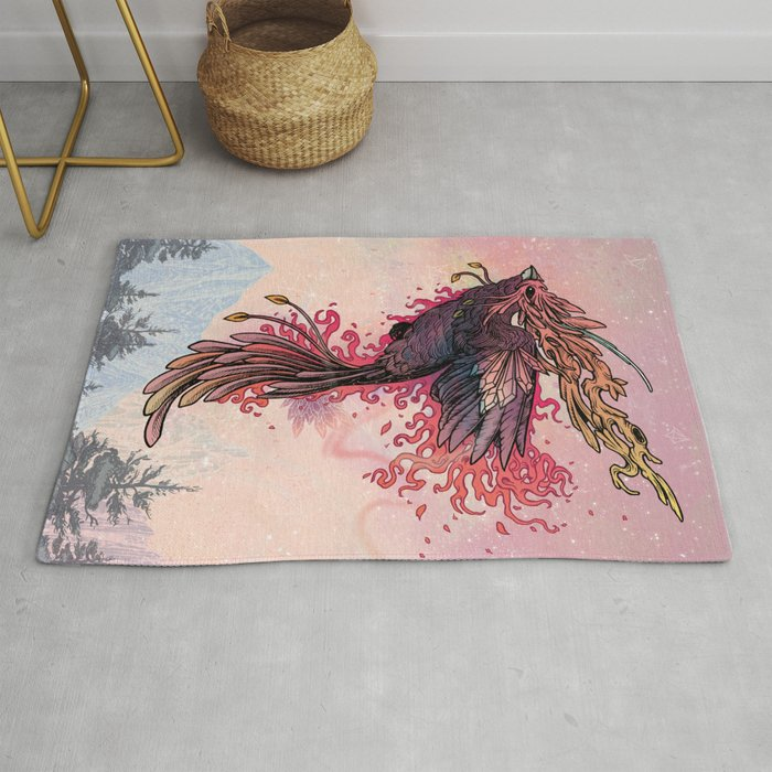 Phoenix Rug By Matmiller Society6