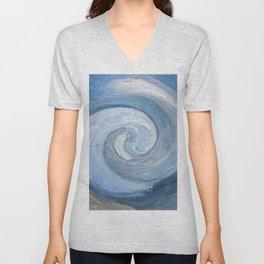 397 - Abstract Colour Design Unisex V-Neck