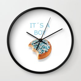 A boy is born Wall Clock