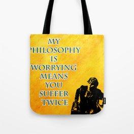 Newt Scamander Quote Tote Bag