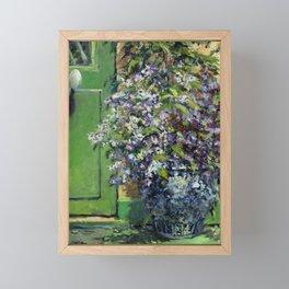Monet's Entry — Giverny, France Framed Mini Art Print