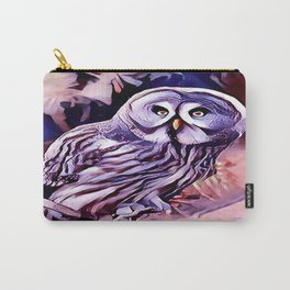 The Great Grey Owl Carry-All Pouch