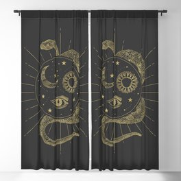 Shakti Snake Energy Blackout Curtain