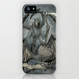 The Reaper's Ride iPhone Case