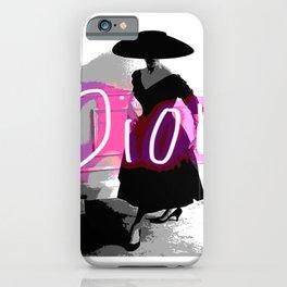 fashion icon no 3 neon edition iPhone Case