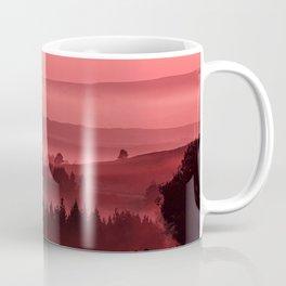 My road, my way. Red. Coffee Mug