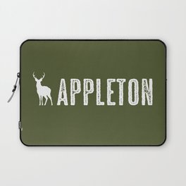 Deer: Appleton, Wisconsin Laptop Sleeve