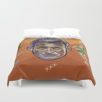 pilot Duvet Covers featuring Pilot by Terry Luc