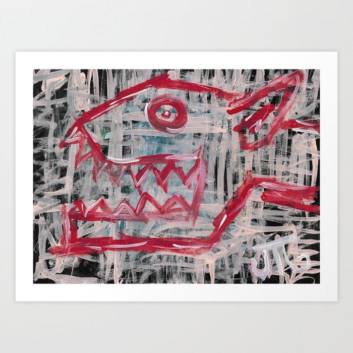 """""""Rabies"""" Art Print"""