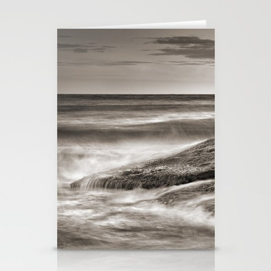 the force of the sea Stationery Cards