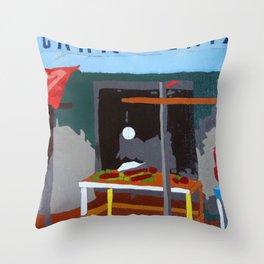 The Butcher Throw Pillow
