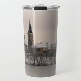 Bled Island Winter Travel Mug