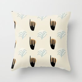 Composition Shapes 4 Ever #shapeart #digitalart Throw Pillow