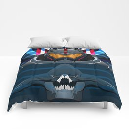 Pacific Rim, Jaws edition Comforters