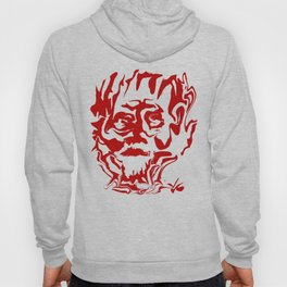 face5 red Hoody