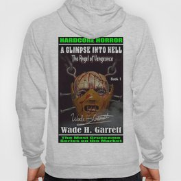 """""""The Angel of Vengeance"""" book cover art with signature Hoody"""