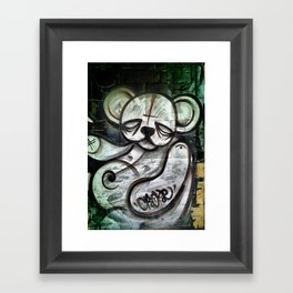 Ted Tag Framed Art Print