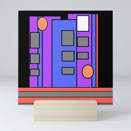 The Artist at Night Mini Art Print