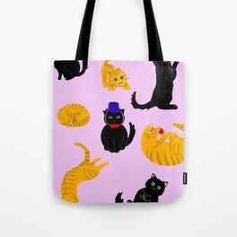 kitty cat 2 Tote Bag