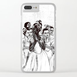 The Black Swan Clear iPhone Case