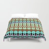 oasis Duvet Covers featuring Oasis by Ornaart