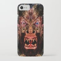 animal crew iPhone & iPod Cases featuring Animal by Zandonai