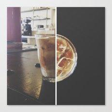 ice+coffee // instagram // Canvas Print