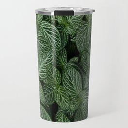 Leafy Abstract Travel Mug