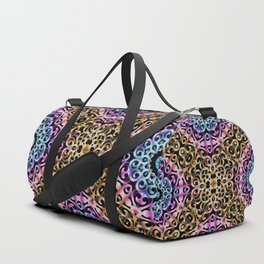 Floral Wrought Iron G80 Duffle Bag