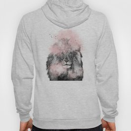 Lion in Pink Hoody