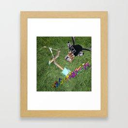 420 Graze It Framed Art Print