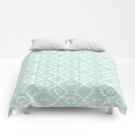 Mint Navajo Comforters