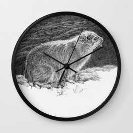 Dassie. Wall Clock