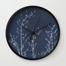 Jasmine In the Still of the Night Wall Clock