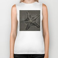starfish Biker Tanks featuring STARFISH by Mary Szulc