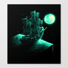 Detour Canvas Print