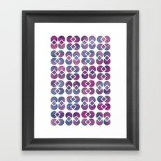 Broken Geometry 4 Framed Art Print