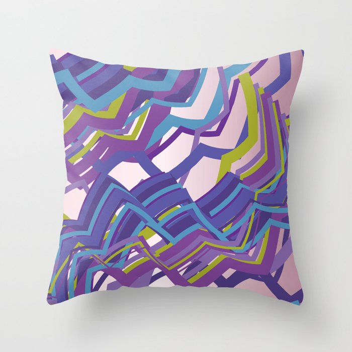 Zigster Throw Pillow