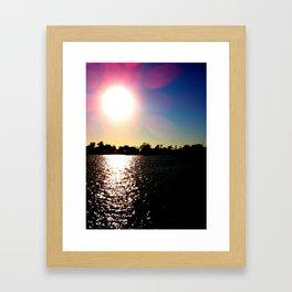 Sunrays Framed Art Print