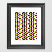 Krijgsman Pattern Framed Art Print