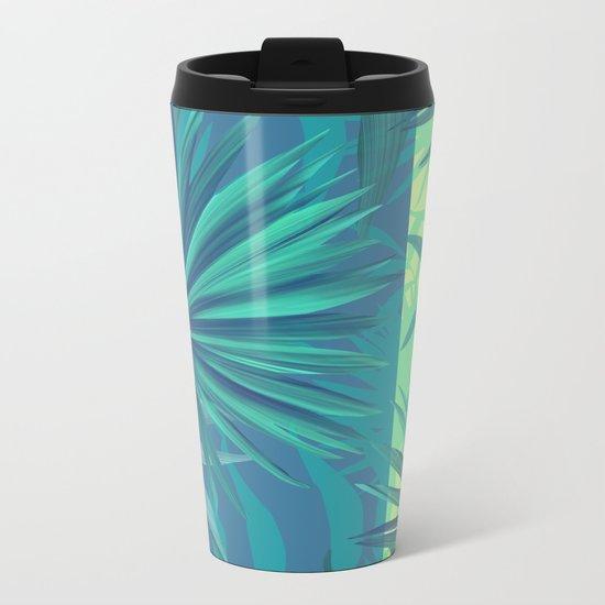 soft tropic Metal Travel Mug