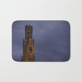 Beffroi de Bruges // Belfry of Bruges Bath Mat