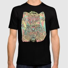 the functioning parts Mens Fitted Tee Black MEDIUM