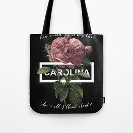 Harry Styles Carolina graphic artwork Tote Bag