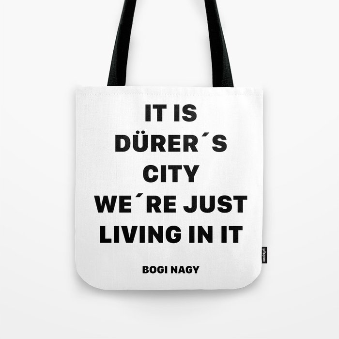 DÜRER´S CITY Tote Bag