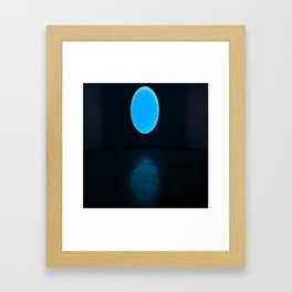 James Turrell Blue Framed Art Print