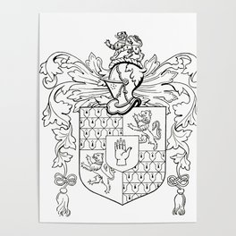 Swormanship Coat of Arms Poster