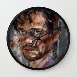 He stares at me - v2 Wall Clock