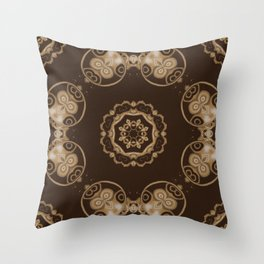 Sequential Baseline Pattern 7 Throw Pillow